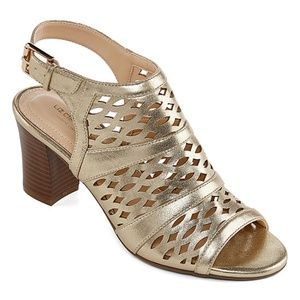 Liz Claiborne Womens Heeled Sandals.